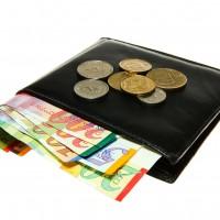 ארנק המכיל כסף ישראלי